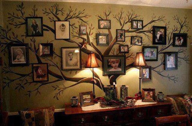 Древо в интерьере